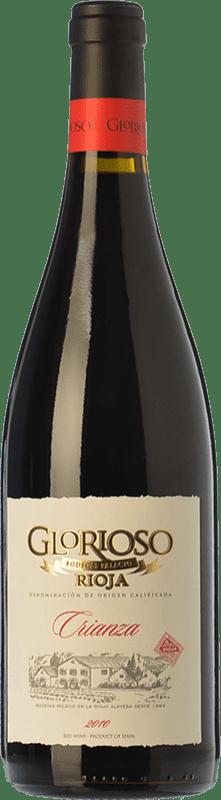 15,95 € Envoi gratuit | Vin rouge Palacio Glorioso Crianza D.O.Ca. Rioja La Rioja Espagne Tempranillo Bouteille Magnum 1,5 L