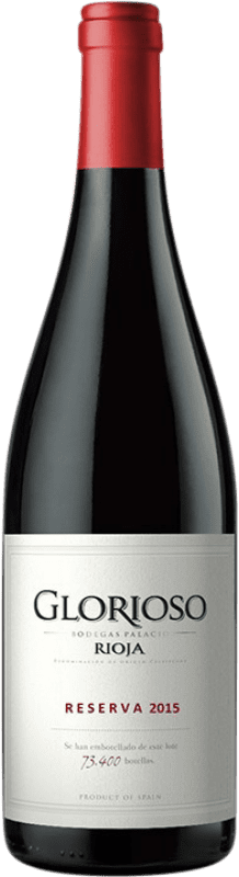 11,95 € Free Shipping | Red wine Palacio Glorioso Reserva D.O.Ca. Rioja The Rioja Spain Tempranillo Bottle 75 cl