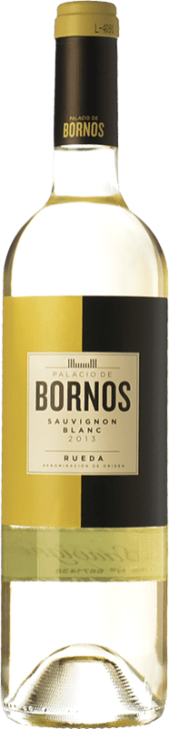 7,95 € Envoi gratuit | Vin blanc Palacio de Bornos D.O. Rueda Castille et Leon Espagne Sauvignon Blanc Bouteille 75 cl