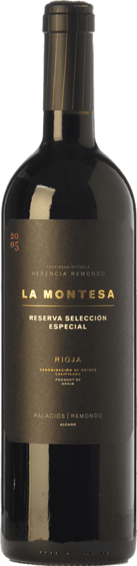 32,95 € | Red wine Palacios Remondo La Montesa Selección Especial Reserva D.O.Ca. Rioja The Rioja Spain Tempranillo, Grenache, Mazuelo Bottle 75 cl