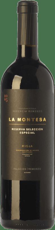 32,95 € | Red wine Palacios Remondo La Montesa Selección Especial Reserva 2010 D.O.Ca. Rioja The Rioja Spain Tempranillo, Grenache, Mazuelo Bottle 75 cl