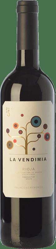 9,95 € Envoi gratuit | Vin rouge Palacios Remondo La Vendimia Joven D.O.Ca. Rioja La Rioja Espagne Tempranillo, Grenache Bouteille 75 cl