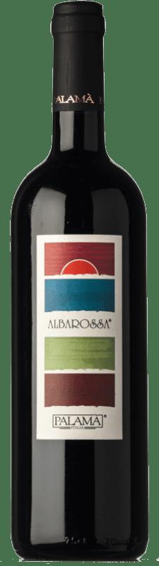 6,95 € | Red wine Palamà Albarossa Rosso D.O.C. Salice Salentino Puglia Italy Malvasia Black, Negroamaro Bottle 75 cl