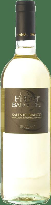 5,95 € | White wine Palamà Fregi Barocchi Bianco I.G.T. Salento Campania Italy Verdeca, Malvasia Bianca di Candia Bottle 75 cl