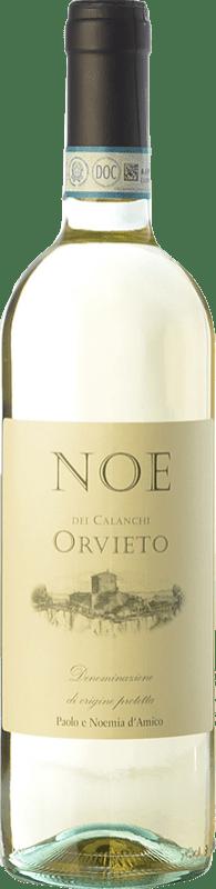 8,95 €   White wine D'Amico Noe dei Calanchi D.O.C. Orvieto Umbria Italy Trebbiano, Pinot Grey, Grechetto Bottle 75 cl