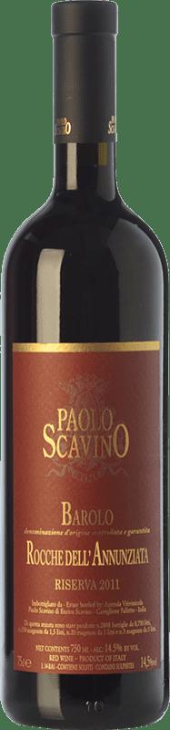 278,95 € Free Shipping | Red wine Paolo Scavino Rocche dell'Annunziata D.O.C.G. Barolo Piemonte Italy Nebbiolo Bottle 75 cl