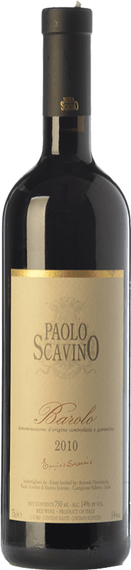 64,95 € Free Shipping | Red wine Paolo Scavino D.O.C.G. Barolo Piemonte Italy Nebbiolo Bottle 75 cl