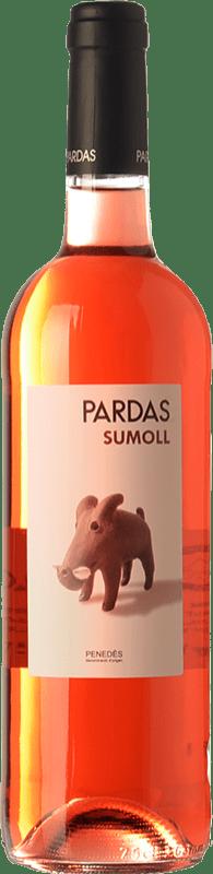 12,95 € | Rosé wine Pardas Rosat D.O. Penedès Catalonia Spain Sumoll Bottle 75 cl