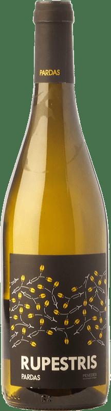 11,95 € | White wine Pardas Rupestris Blanc D.O. Penedès Catalonia Spain Malvasía, Macabeo, Xarel·lo, Xarel·lo Vermell Bottle 75 cl