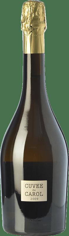 59,95 € Envoi gratuit | Blanc moussant Parés Baltà Cuvée de Carol Reserva 2009 D.O. Cava Catalogne Espagne Macabeo, Chardonnay Bouteille 75 cl