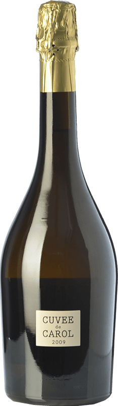59,95 € 免费送货 | 白起泡酒 Parés Baltà Cuvée de Carol Reserva 2009 D.O. Cava 加泰罗尼亚 西班牙 Macabeo, Chardonnay 瓶子 75 cl