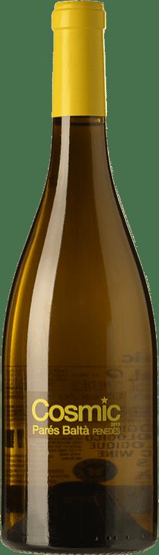 9,95 € Free Shipping | White wine Parés Baltà Còsmic D.O. Penedès Catalonia Spain Xarel·lo, Sauvignon White Bottle 75 cl