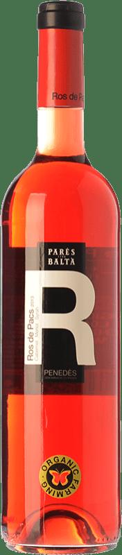 7,95 € Free Shipping | Rosé wine Parés Baltà Ros de Pacs D.O. Penedès Catalonia Spain Merlot, Cabernet Sauvignon Bottle 75 cl