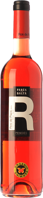 7,95 € Envoi gratuit | Vin rose Parés Baltà Ros de Pacs D.O. Penedès Catalogne Espagne Merlot, Cabernet Sauvignon Bouteille 75 cl