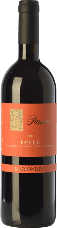 59,95 € | Red wine Parusso Mariondino D.O.C.G. Barolo Piemonte Italy Nebbiolo Bottle 75 cl