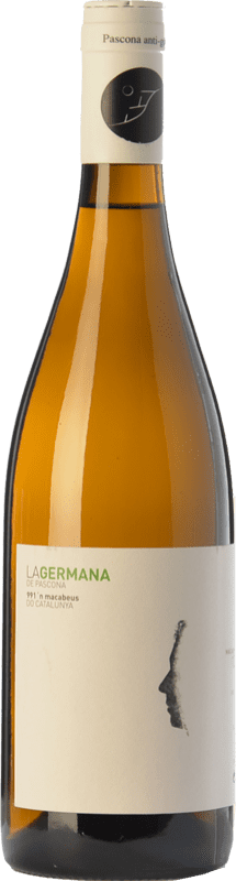 9,95 € Free Shipping | White wine Pascona La Germana Crianza D.O. Montsant Catalonia Spain Macabeo, Muscatel Small Grain Bottle 75 cl