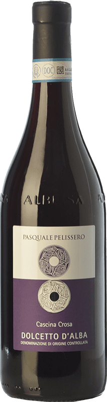 11,95 € Free Shipping | Red wine Pasquale Pelissero Cascina Crosa D.O.C.G. Dolcetto d'Alba Piemonte Italy Dolcetto Bottle 75 cl