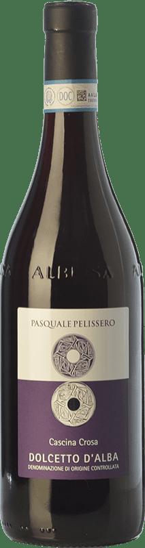 11,95 € | Red wine Pasquale Pelissero Cascina Crosa D.O.C.G. Dolcetto d'Alba Piemonte Italy Dolcetto Bottle 75 cl