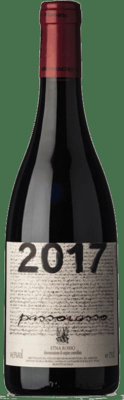 33,95 € Free Shipping | Red wine Passopisciaro Passorosso I.G.T. Terre Siciliane Sicily Italy Nerello Mascalese Bottle 75 cl