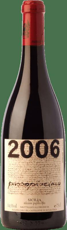 36,95 € Free Shipping | Red wine Passopisciaro Crianza I.G.T. Terre Siciliane Sicily Italy Nerello Mascalese Bottle 75 cl