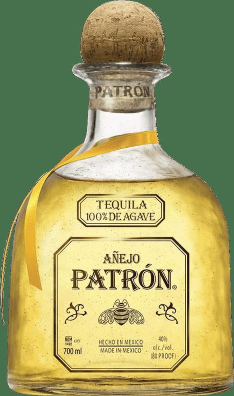 73,95 € Envío gratis | Tequila Patrón Añejo Mexico Botella 70 cl