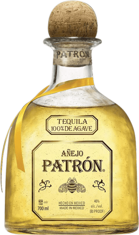 73,95 € Free Shipping | Tequila Patrón Añejo Mexico Bottle 70 cl