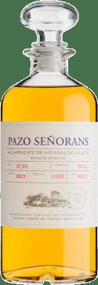 19,95 € Envío gratis | Licor de hierbas Pazo de Señoráns Aguardiente de Hierbas D.O. Orujo de Galicia Galicia España Media Botella 50 cl