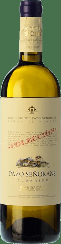19,95 € 免费送货 | 白酒 Pazo de Señoráns Colección D.O. Rías Baixas 加利西亚 西班牙 Albariño 瓶子 75 cl