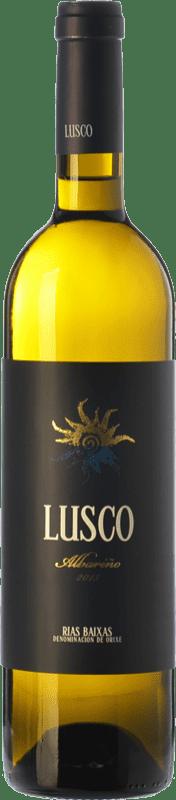 15,95 € Envoi gratuit | Vin blanc Lusco D.O. Rías Baixas Galice Espagne Albariño Bouteille 75 cl