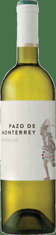 8,95 € | White wine Pazos del Rey Pazo de Monterrey D.O. Monterrei Galicia Spain Godello Bottle 75 cl