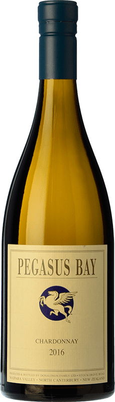 49,95 € Free Shipping | White wine Pegasus Bay Crianza I.G. Waipara Waipara New Zealand Chardonnay Bottle 75 cl