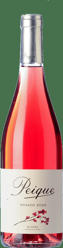 7,95 € Envío gratis | Vino rosado Peique sobre Lías D.O. Bierzo Castilla y León España Mencía Botella 75 cl