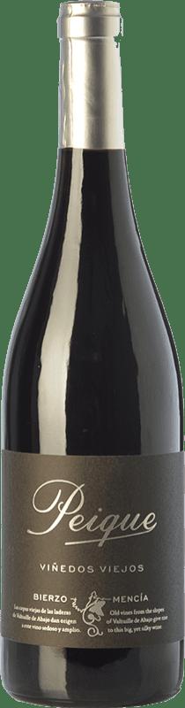 18,95 € | Red wine Peique Viñedos Viejos Crianza D.O. Bierzo Castilla y León Spain Mencía Bottle 75 cl