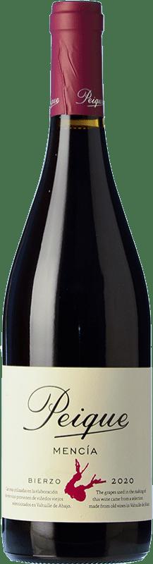 7,95 € Envoi gratuit | Vin rouge Peique Joven D.O. Bierzo Castille et Leon Espagne Mencía Bouteille 75 cl