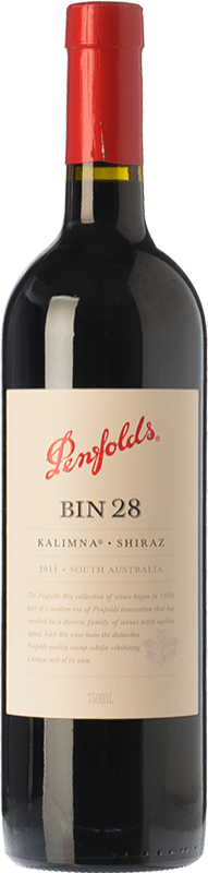 37,95 € Free Shipping | Red wine Penfolds Bin 28 Kalimna Shiraz Crianza I.G. Southern Australia Southern Australia Australia Syrah Bottle 75 cl