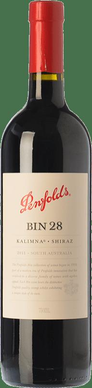 37,95 € Envoi gratuit   Vin rouge Penfolds Bin 28 Kalimna Shiraz Crianza I.G. Southern Australia Australie méridionale Australie Syrah Bouteille 75 cl