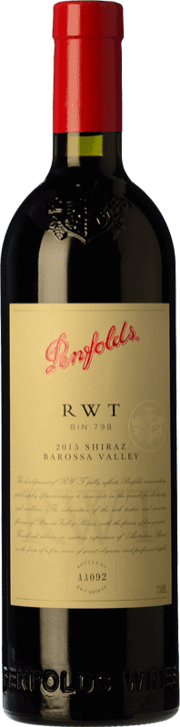 214,95 € Free Shipping | Red wine Penfolds RWT Shiraz Crianza I.G. Southern Australia Southern Australia Australia Syrah Bottle 75 cl