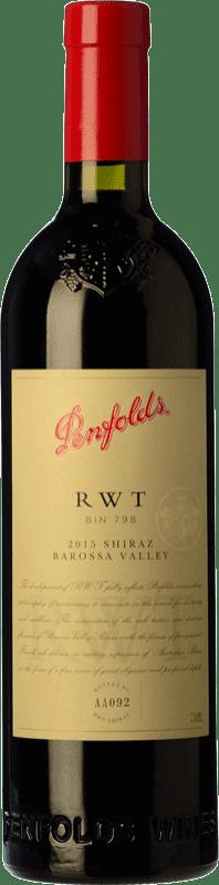 214,95 € Envío gratis | Vino tinto Penfolds RWT Shiraz Crianza I.G. Southern Australia Southern Australia Australia Syrah Botella 75 cl