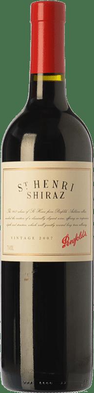 63,95 € Free Shipping | Red wine Penfolds St. Henri Shiraz Crianza 2007 I.G. Southern Australia Southern Australia Australia Syrah, Cabernet Sauvignon Bottle 75 cl