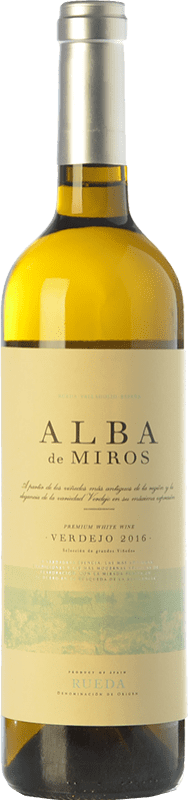 11,95 € | White wine Peñafiel Alba de Miros D.O. Rueda Castilla y León Spain Verdejo Bottle 75 cl