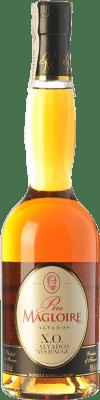 48,95 € 免费送货 | 卡尔瓦多斯 Père Magloire X.O. Extra Old I.G.P. Calvados Pays d'Auge 法国 半瓶 50 cl