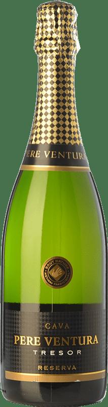 22,95 € | White sparkling Pere Ventura Tresor Brut Nature D.O. Cava Catalonia Spain Macabeo, Xarel·lo, Parellada Bottle 75 cl