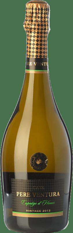 19,95 € | White sparkling Pere Ventura Cupatge d'Honor Reserva D.O. Cava Catalonia Spain Xarel·lo, Chardonnay Bottle 75 cl
