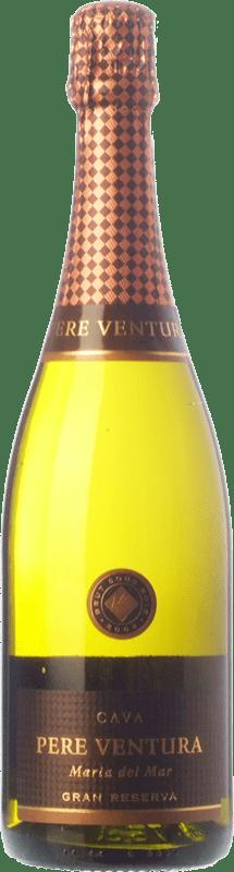 21,95 € | White sparkling Pere Ventura Cuvée Maria del Mar Gran Reserva D.O. Cava Catalonia Spain Xarel·lo, Chardonnay Bottle 75 cl