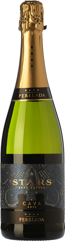 6,95 € Free Shipping | White sparkling Perelada Stars Brut Nature D.O. Cava Catalonia Spain Macabeo, Xarel·lo, Parellada Bottle 75 cl