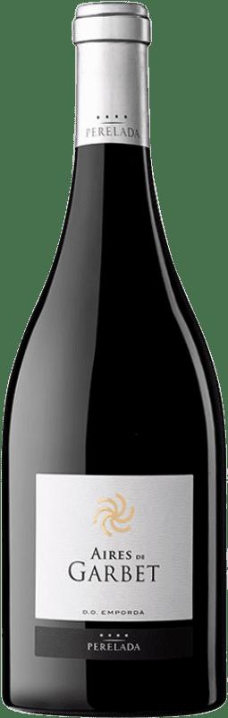 42,95 € Envío gratis | Vino tinto Perelada Aires de Garbet Reserva D.O. Empordà Cataluña España Garnacha Botella 75 cl