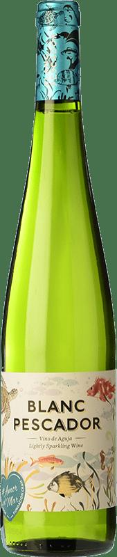 5,95 € Envío gratis | Vino blanco Perelada Blanc Pescador Joven D.O. Empordà Cataluña España Macabeo, Xarel·lo, Parellada Botella 75 cl
