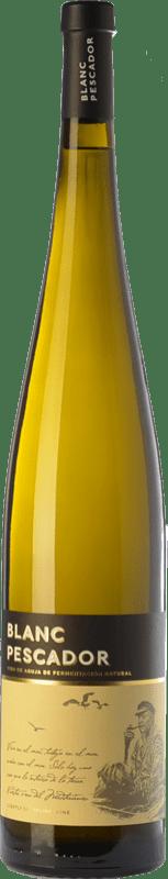 12,95 € Envío gratis | Vino blanco Perelada Blanc Pescador D.O. Empordà Cataluña España Macabeo, Xarel·lo, Parellada Botella Mágnum 1,5 L