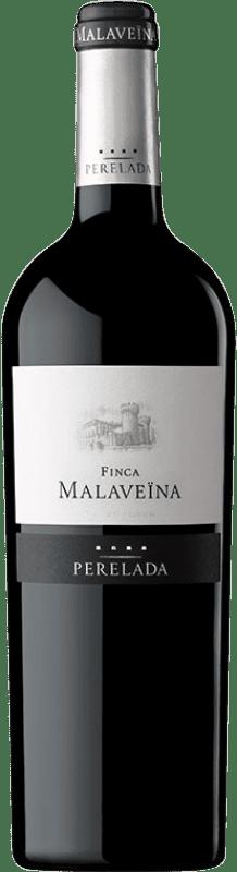 21,95 € | Red wine Perelada Finca Malaveïna Crianza D.O. Empordà Catalonia Spain Merlot, Syrah, Grenache, Cabernet Sauvignon, Cabernet Franc Bottle 75 cl
