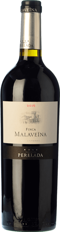 117,95 € | Red wine Perelada Finca Malaveïna Crianza 2010 D.O. Empordà Catalonia Spain Merlot, Cabernet Sauvignon, Cabernet Franc Jéroboam Bottle-Double Magnum 3 L